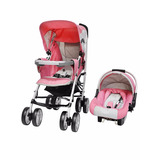 Baby Kits - Coche Para Bebe Travel System Cross - Rosado