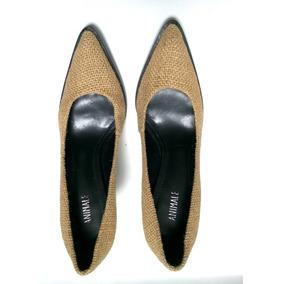 Sapato Salto Scarpin Animale Ótimo Estado Tam 34