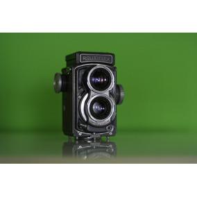 Câmera Rolleiflex Baby 1957. Para Decoracao Ou Colecao