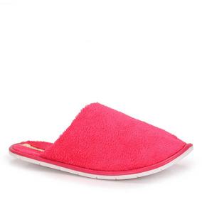 Pantufa Mule Moleca Peluciado - Pink