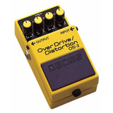 Boss Os-2 Overdrive Distortion Pedal Efecto Guitarra- Oddity