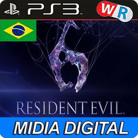 Resident Evil 6 Ps3 Psn Play3 Legenda Português Br Promoção