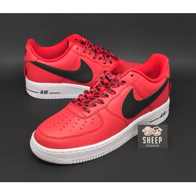 Nike Air Force Force Air 1 L V8 Original Vermelho Calçados