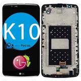 Tela Display Lcd Frontal Lg K10 K430 Tv - C/ Aro - Sem Ci