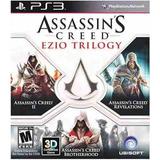 Juego Assassins Creed Ezio Trilogy Para Ps3 Físico Trilogia