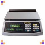 Balanza Digital Systel Clipse 31 Kg Bateria Puerto Impresor