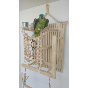 Brinquedo Play Parede Papagaio Encanto Das Aves Brinquedos