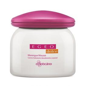 Egeo Dolce Merengue Mousse Creme Hidratante Desodorante Corp