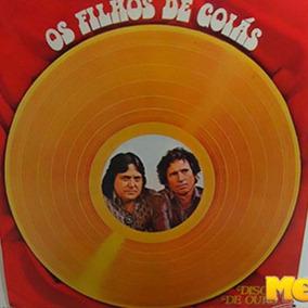 Os Filhos De Goiás 1977 Disco De Ouro Lp Não Vá Embora