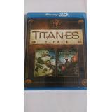 Furia De Titanes 1 Y 2 Blu-ray 3d-2d 4 Discos Nuevo Sellado