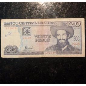 20 Pesos Cubanos - Ano De 2002 - Casa Baiana Da Moeda