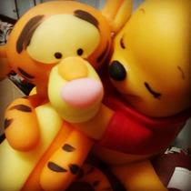 Pooh Bebe Y Amigos-souvenirs-adorno De Torta