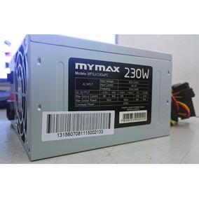 Fonte Atx 230w Reais Mymax Mpsu/230wpc-24p-bivolt - Nfe