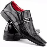 Sapato Social Masculino Verniz 100% Couro Grande Oferta