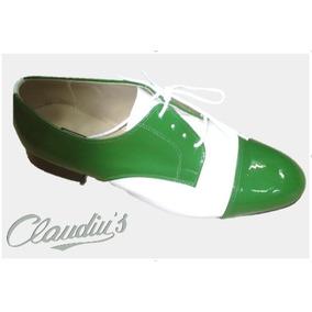 c824dd3d76 Sapato Social Masculino Verniz - Sapatos Verde no Mercado Livre Brasil
