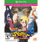 Naruto Shippuden Ultimate Ninja Storm 4 Road To Boruto Xbox