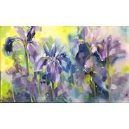 Obra/quadro Acrílico S/tela Painel Pintado A Mão 60x100cm