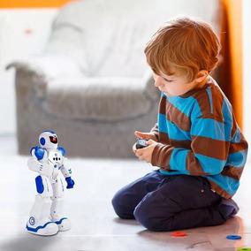 Robô Controle Remoto Bateria Recarregável Fala Anda Dança