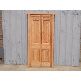 Puertas Frente Ciegas Madera Pinotea 100x210cm Chapasusadas