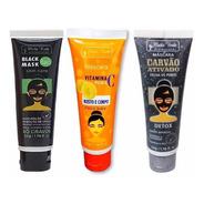 Matto Verde Kit Black Mask + Vitamina C + Carvão Ativado
