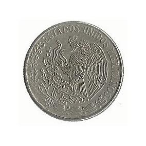 Moeda Cincuenta Centavos 1971 Estados Unidos Mexicanos