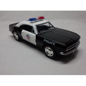 Miniatura Chevrolet Camaro Z/28 1967 Polícia Escala 1:37