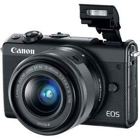 Câmera Canon Eos M100 Kit 15-45mm C/nota 2018 Orig Lacrado