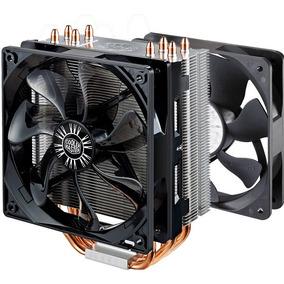 Combo Cpu Cooler Master Hyper 212 Evo Doble Ventilador Fan