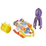 Juguete Misión Matchbox Bajo La Superficie Del Calamar Sub