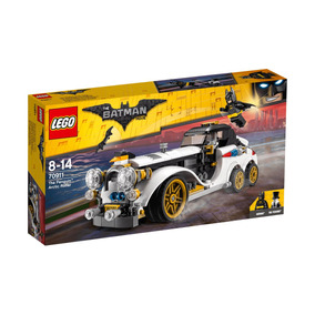 Lego Dc Super Hero Batman Auto Arctico Del Pinguino 70911