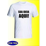 Camiseta Personalizada Como Quiser Foto Cha Bebe Festa Logo