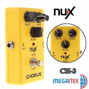 Pedal Nux Ch-3 Chorus Guitarra Violão Vintage Frete Grátis