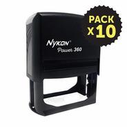 Nykon 360 (37x76mm) Pack X 10 . Sellos Por Mayor