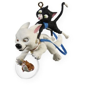 One Unlikely Team Bolt 2009 Disney Playhouse Ornament Qxd...