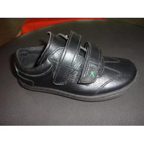 Zapatos Colegiales Kickers Para Niño