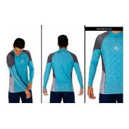Camiseta Surf Kit Caiaque Lycra Proteção Solar Pena Surf
