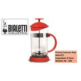 Prensa Francesa Roja, Bialetti, Produce El Más Rico Café