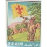 Ras Al Khaimah 1966 12º Jamboree Scout Mundial, Idaho.