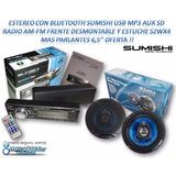 Estereo Con Bluetooth Sumishi + Parlantes 6,5 Oferta !!