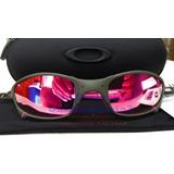 Oculos Juliet Xmetal Lente Rosa Pink Polarizada U.s.a + Case ce33d540fe