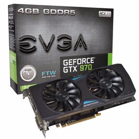 Placa De Vídeo Evga Geforce Gtx 970 Ftw Acx 2.0 4gb Gddr5