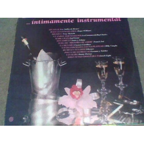 Disco Lp Íntimamente Instrumental Mca Records Artistas Vario