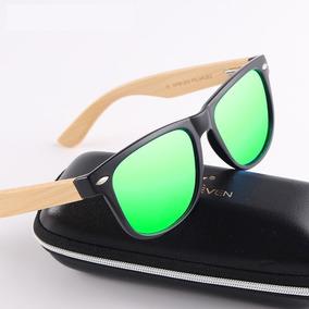 Óculos De Sol Masculino Kingseven Original Haste Em Bambu. R  85 49 149155d69c