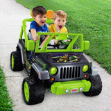 Power Wheels Jeep Wrangler Turtles Carro Eléctrico Niños