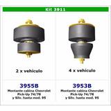 Kit Completo Soporte De Cabina Chevrolet Silverado Hasta 95