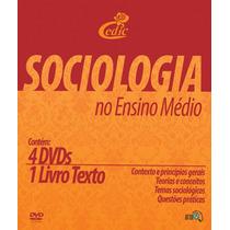 Coleção De Dvds Sociologia No Ensino Médio - Frete Gratis