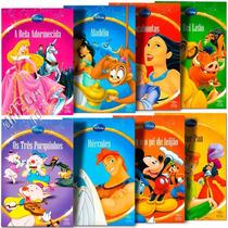Coleção C/ 8 Mini Revistinhas Com Histórias Clássicos Disney