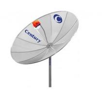 Antena Parabólica 1,50m Century Completa+receptor+lnbf+cabo
