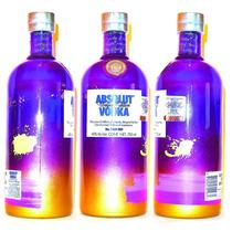 Absolut Vodka Unique Vacia Coleccion Exposure Mix No Label