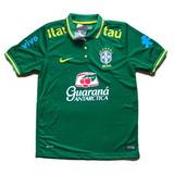 6bfef347cdb3f Camisa Polo Nike Seleção Brasileira Viagem Tam  G G - Futebol no ...